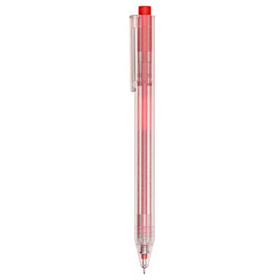 選べるリフィルペン六角軸ゲルボールペン赤