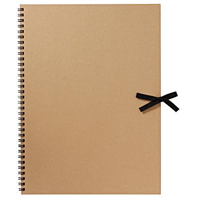 再生紙スケッチブックF4サイズ 無印良品