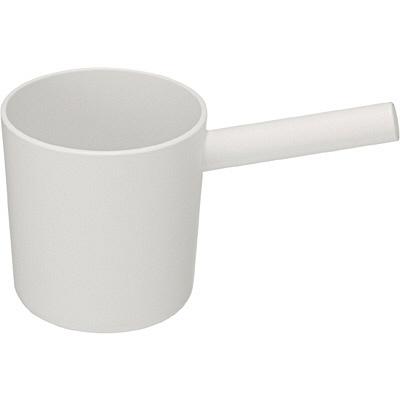 ポリプロピレン片手桶・白 7027877 無印良品