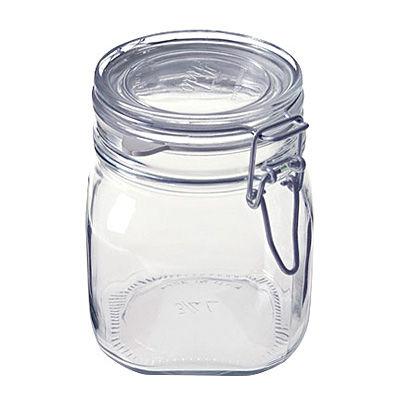 ソーダガラス密封ビン 約750ml