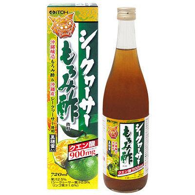 シークヮーサーもろみ酢飲料 720ml