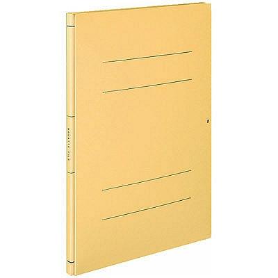 コクヨ フラットファイル ガバットファイル(活用タイプ・紙製) A4タテ イエロー フ-V90 1パック(30冊入)