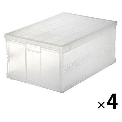 無印良品 ポリプロピレンキャリーボックス・折りたたみ式 大 7686715 1 ...