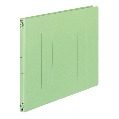 コクヨ フラットファイルV B4ヨコ 緑 フ-V19G 10冊