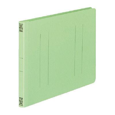 フラットファイルV B5ヨコ 緑 10冊