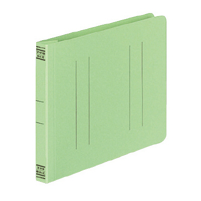 コクヨ フラットファイルV B6ヨコ 緑 フ-V18G 10冊