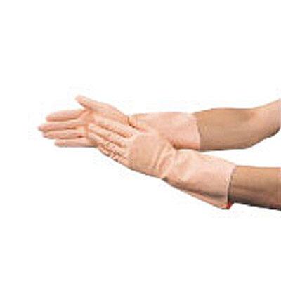 TRUSCO 天然ゴム手袋 薄手タイプ