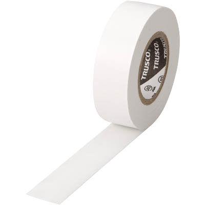 トラスコ中山 TRUSCO 脱鉛タイプ ビニールテープ ホワイト 19mm×10m巻 TM1910W1P 952-1199