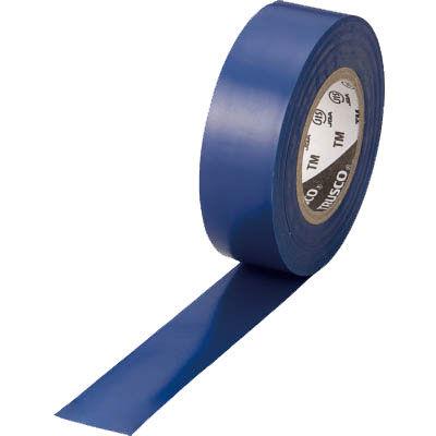 トラスコ中山 TRUSCO 脱鉛タイプ ビニールテープ ブルー 19mm×10m巻 TM1910B1P 952-1395