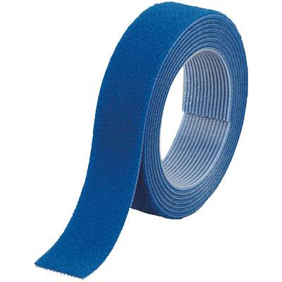 トラスコ中山 TRUSCO マジックバンド結束テープ 両面 幅20mm×長さ1.5m 青 MKT2015B 1巻 361-9800