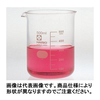 ハリオ(HARIO) ビーカー 目安目盛付 300mL 1個 6-214-05 柴田科学 (取寄品)