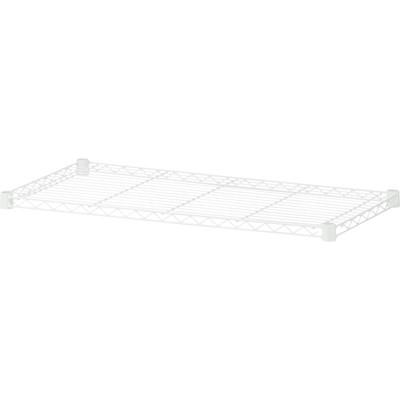 アイリスオーヤマ ポール直径25mm カラーメタルラック 棚板 幅1800×奥行460mm 1枚 CMR-18T-W ホワイト(直送品)