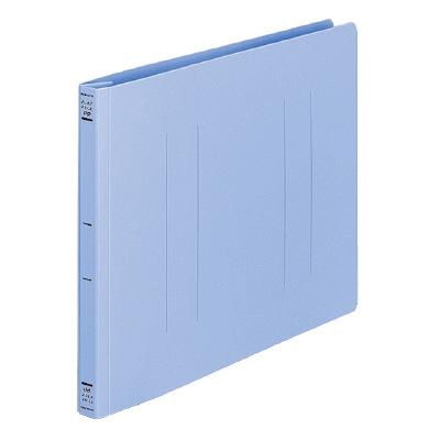 フラットファイルPP製 A4横 青10冊
