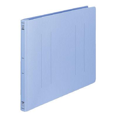フラットファイルPP製 B4横 青10冊