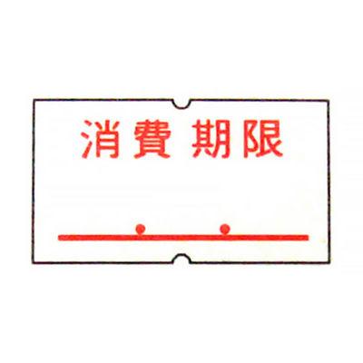 「現場のチカラ」サトー ハンドラベラー用パンチラベル 「消費期限」 1セット(40巻:20巻入×2箱)