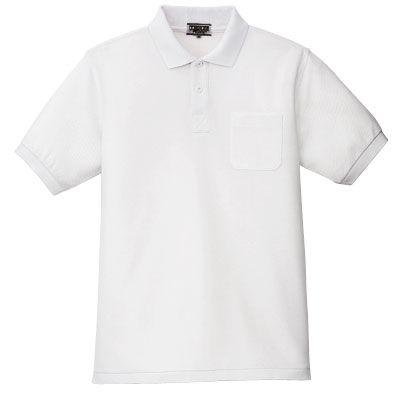 ポロシャツ(男女兼用) ホワイト SS