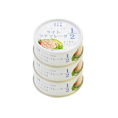 ホテイ ライトツナ1/2 かつお 3缶