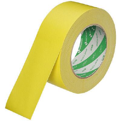 カラー布テープ 50mm×25m巻 黄 102N2-50 1セット(2巻入) ニチバン (直送品)