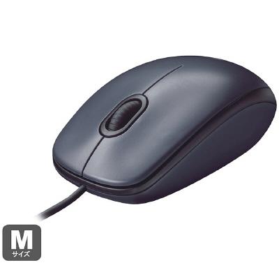 ロジクール 高耐久有線マウス M90