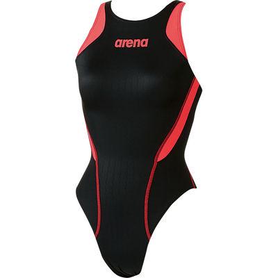 アリーナ ジュニア  競泳用水着 Fina承認 Jrリミック クロスバック X-パイソン2 R130 マルチ DS ARN7031WJ BKBR (取寄品)