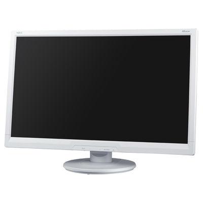 NEC 24型ワイド液晶ディスプレイ(白) LCD-AS242W 1台  (直送品)