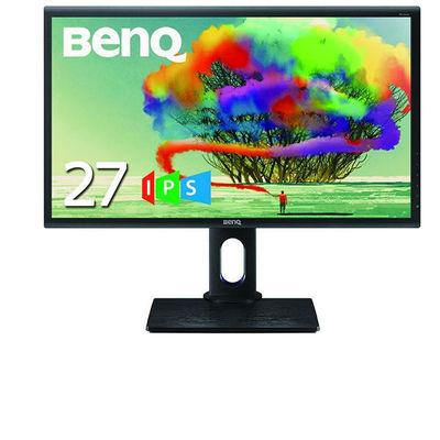 BenQ フリッカーフリー ブルーライト軽減 27型 2560x1440(WQHD) 液晶ディスプレイ PD2700Q 1台  (直送品)