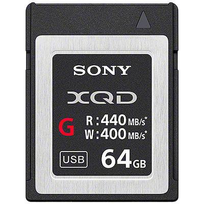 ソニー XQDメモリーカード Gシリーズ 64GB QD-G64E 1個  (直送品)