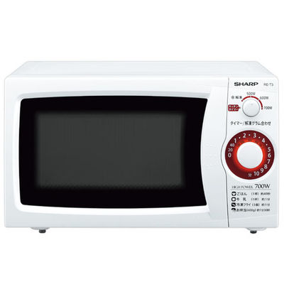 シャープ 電子レンジ ホワイト系/60Hz RE-T3-W6 1台  (直送品)