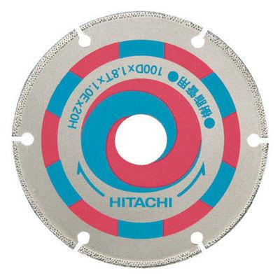 日立工機 スーパーダイヤモンドカッター 100mm×20 (サイディング用) 00321864 (直送品)