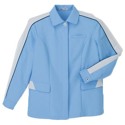 明石スクールユニフォームカンパニー レディースジャケット サックス 15 UN2350-62-15 (直送品)