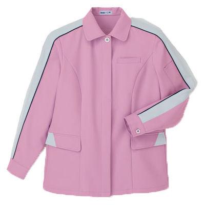 明石スクールユニフォームカンパニー レディースジャケット ピンク 11 UN2350-82-11 (直送品)