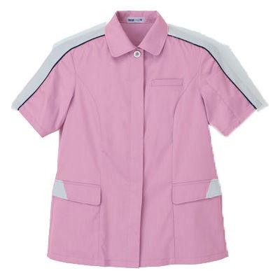 明石スクールユニフォームカンパニー レディース半袖ジャケット ピンク 7 UN3400-82-7 (直送品)