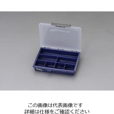 d066e288d6e0 アスクル】エスコ(esco) 175x143x32mm/外寸パーツケース 1セット(8個 ...