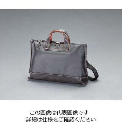 f77fee88f86c エスコ(esco) 440x290x120mmビジネスバッグ(黒) 1個 EA927BE-83 (