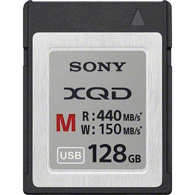 ソニー XQDメモリーカード Mシリーズ 128GB QD-M128A 1個  (直送品)