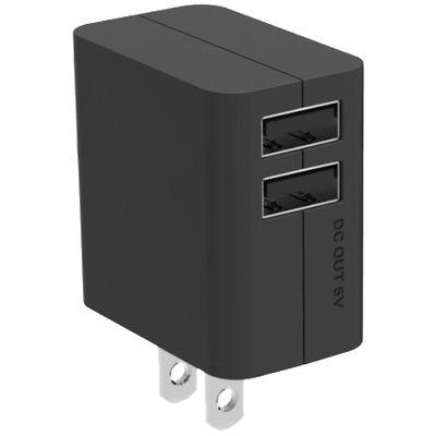 パナソニック USB出力ACアダプター (ブラック) QE-AP109-K 1台  (直送品)