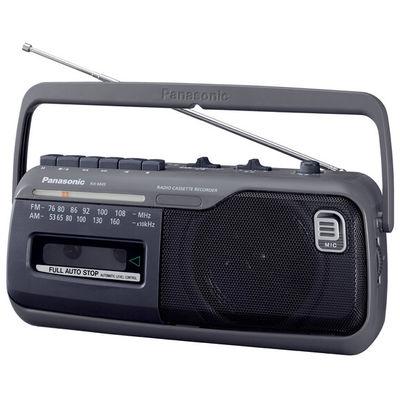パナソニック ラジオカセットレコーダー (グレー) RX-M45-H 1台  (直送品)