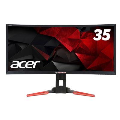 Acer 35インチワイド液晶モニター ブラック Z35bmiphz 1台 (直送品)