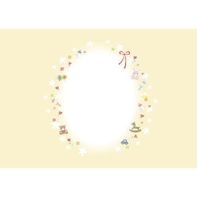 ササガワ タカ印 新のし紙 A3判 ベビートイズ 出産祝用 4-2030 100枚(100枚袋入) (取寄品)