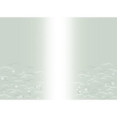 ササガワ タカ印 新のし紙 B4判 偲草 葬儀・法事用 4-2084 100枚(100枚袋入) (取寄品)