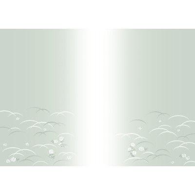 ササガワ タカ印 新のし紙 A4判 偲草 葬儀・法事用 4-2086 100枚(100枚袋入) (取寄品)