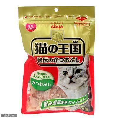 猫の王国 秘伝のかつおぶし 猫用 20g