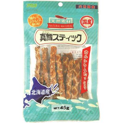 天然素材 真鱈スティック 45g 犬 おやつ 国産 164757