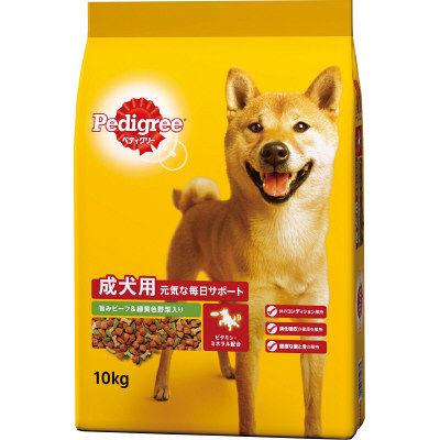 元気な毎日サポート 旨みビーフ&緑黄色野菜入 10kg 245670 マースジャパン