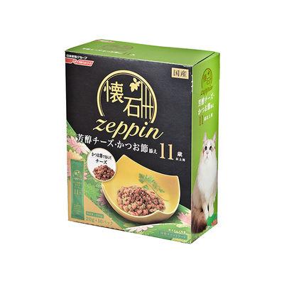 日清ペットフード 懐石zeppin 11歳以上用 芳醇チーズ・かつお節添え 200g 246877