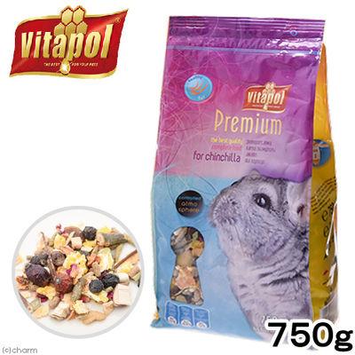 ペッズイシバシ プレミアム チンチラのための総合栄養食 750g ビタポール 274863
