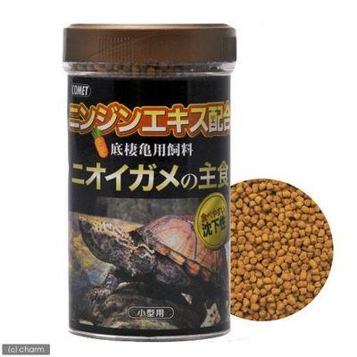 ニオイガメの主食 小型用 55g 爬虫類 カメ エサ 水棲ガメ用 86913