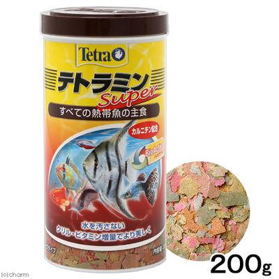 スペクトラム ブランズ ジャパン テトラミンスーパー 200g 熱帯魚 餌 17653