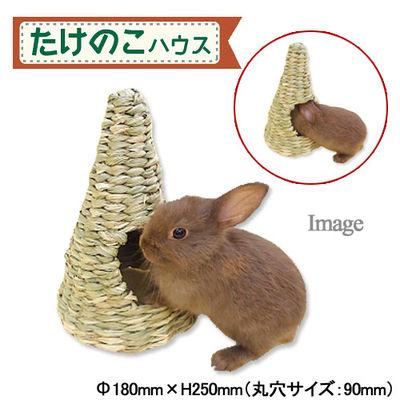 川井 たけのこハウス チンチラ うさぎ 小動物 鳥 おもちゃ 191636
