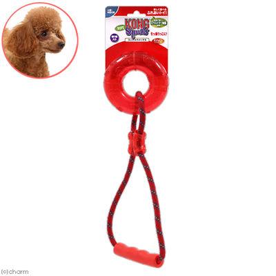 コングスクイークスリングロープレッド 犬